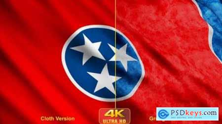 Videohive Tennessee State Flags 24628327