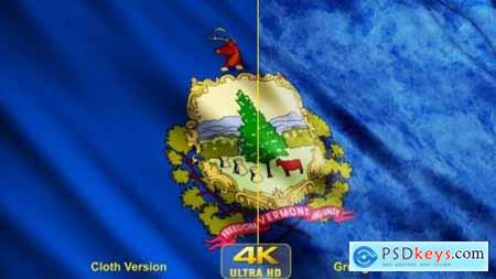 Videohive Vermont State Flags 24628382