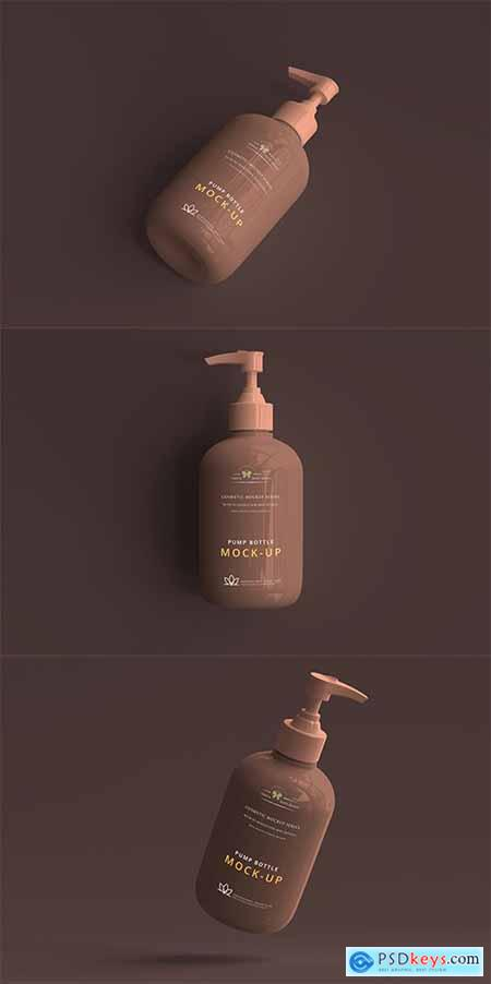 Pump Bottle Mockup Set