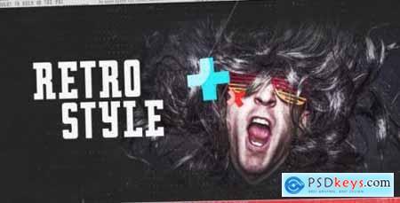 Videohive Fast Retro Style Opener 12366379
