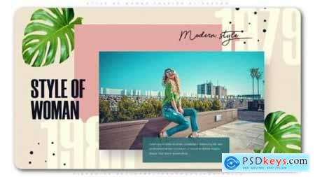 Videohive Style of Woman Fashion Slideshow 24604551