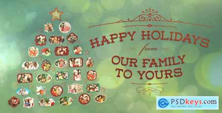 VideoHive Holiday Photo Tree 752419