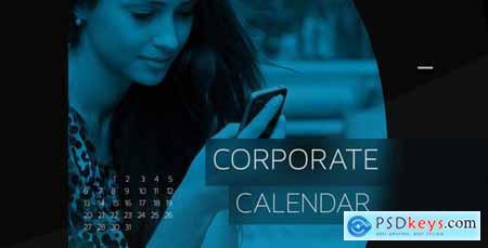 VideoHive Corporate Calendar Timeline 5235084