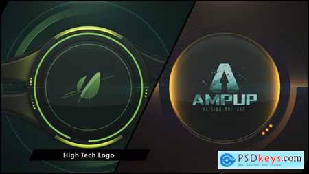 VideoHive Hi Tech Logo II Clean 6925356
