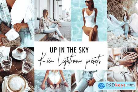 4 BLUE SKY LIGHTROOM PRESETS FILTER 4069331