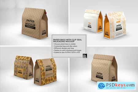 VOL. 17 Paper Box Packaging Mockups 4075657