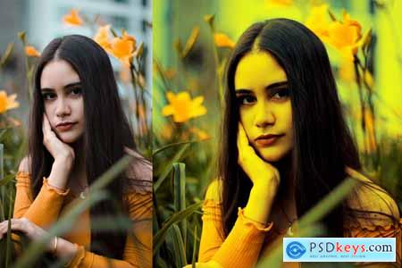 Yellow Color Look Action 4111727