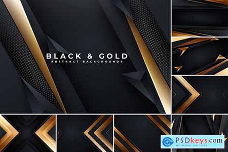 Black & Golden Elegant Backgrounds