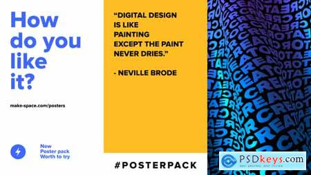 VideoHive Posters Instagram Pack 24662592