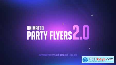 VideoHive Animated Party Flyers 2.0 24684641