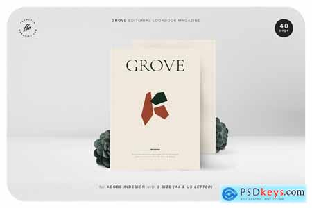 GROVE Editorial Lookbook Magazine 4045541