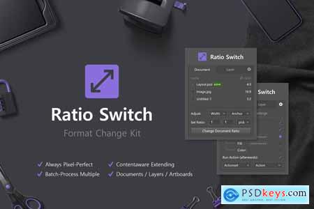 Ratio Switch - Format Change Kit 4137948