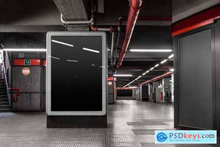 Subway Underground Mock-up 4140348