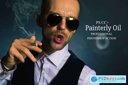 Painterly Oil - Photoshop Action 4117233