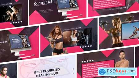 Videohive SPORT Fitness and Workout Sport Gym Promo 23921098