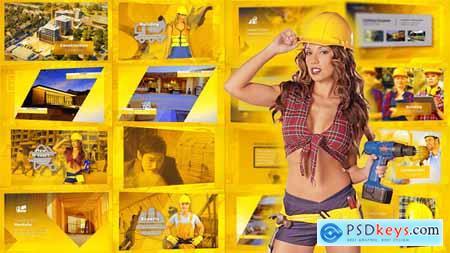 Videohive Construction Presentation - Building Promo 23079196