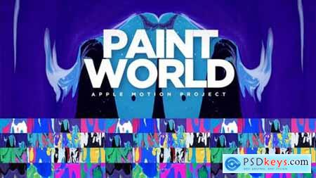 Videohive Paint World 21052577