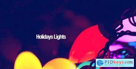 Videohive Holidays Lights 9637036