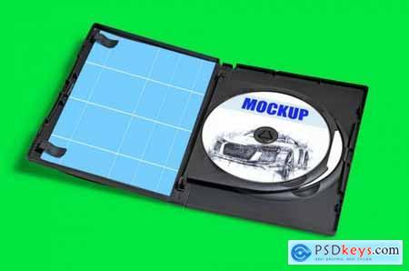 DVD CD packaging Mockup 02
