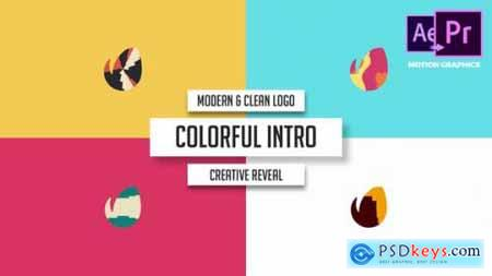 Videohive Modern & Clean Logo Colorful Intro 21929337