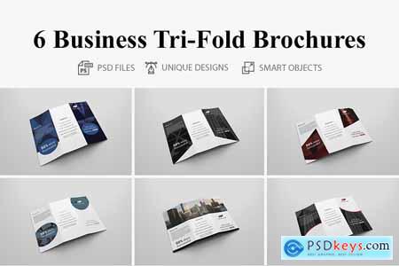 6 Business Tri-fold Brochure 4117379