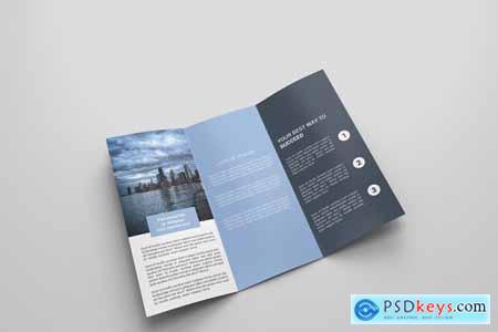 6 Business Tri-fold Brochure 4122574