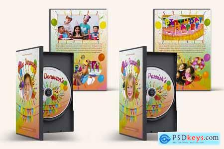 Kids Birthday Party DVD Covers Vol01 3896605