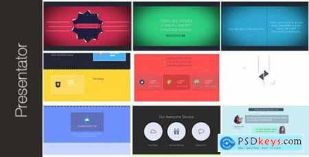 Videohive Presentator The Best Way To Present Your Company 7398272