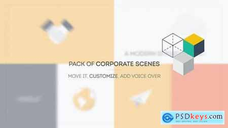 Videohive Colorful Promo l Corporate Scenes 10933375