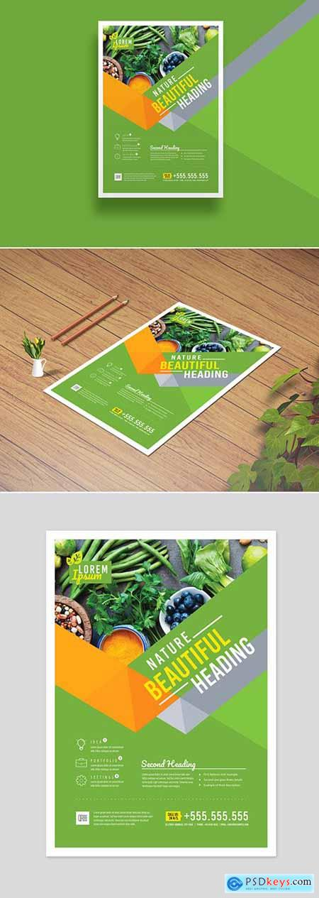 Green Corporate Flyer Layout 286585947