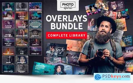 1000+ Premium HD Overlays and Actions for Photoshop