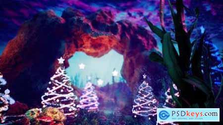 Videohive Blue Christmas 24683942