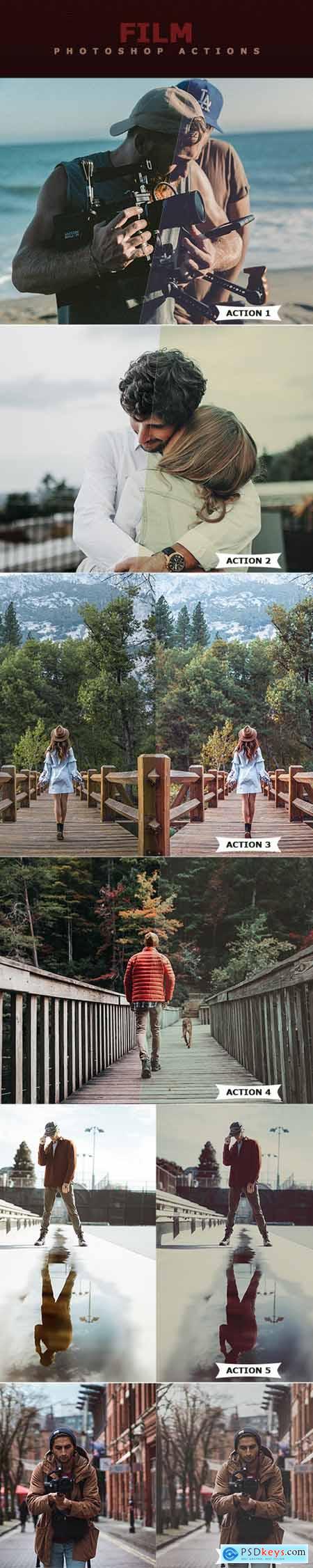 Film Photoshop Actions 22824285