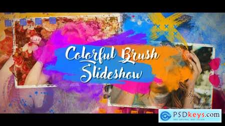 VideoHive Colorful Brush Slideshow 23601100