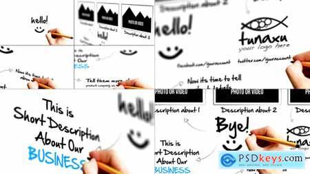 VideoHive Sketch Presentation 2974845