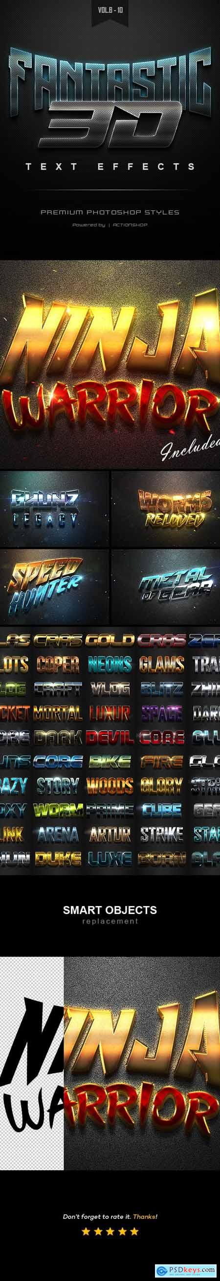 3D Text Effects Bundle Two 22589005