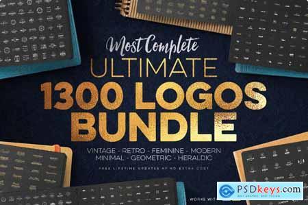 1,300+ Premium Logo Templates Vintage, Modern & More
