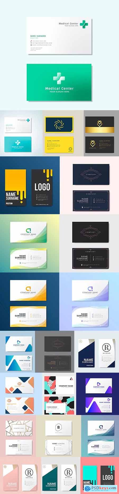 Business Card Set - 22 EPS Template