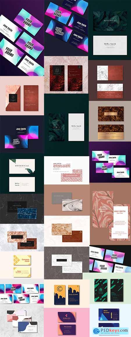 Business Card Set - 25 EPS Template