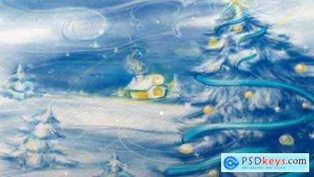 Videohive Christmas and New Year Video Card 13375413