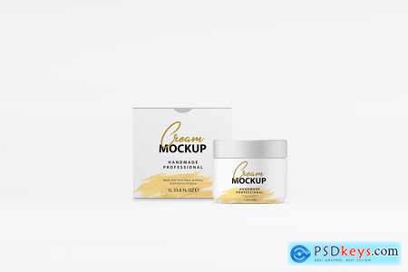 Cream Box Mockup 4083392
