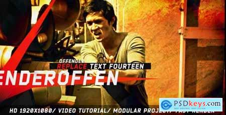 VideoHive Offender-Grunge Promo 7723676
