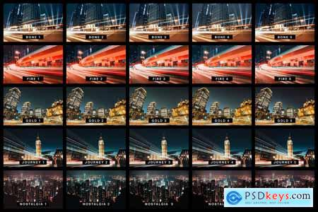 50 Urban City Lightroom Presets and LUTs 4154607