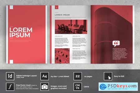 Red Business Proposal Layout 4158818