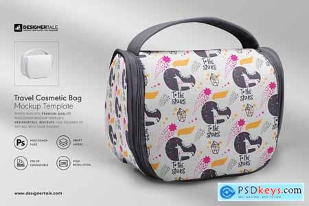 Travel Cosmetic Bag Mockup 4119445