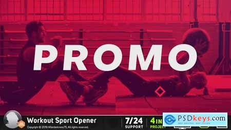 Videohive Workout Sports Opener 21922586