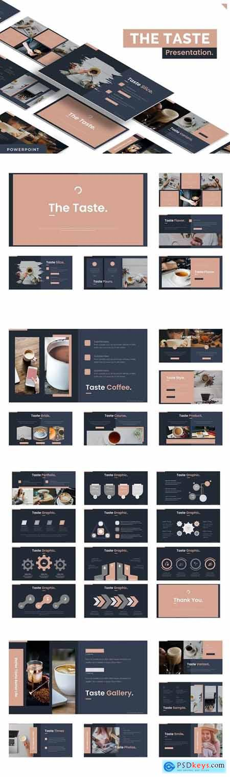 The Taste Powerpoint, Keynote and Google Slides Templates