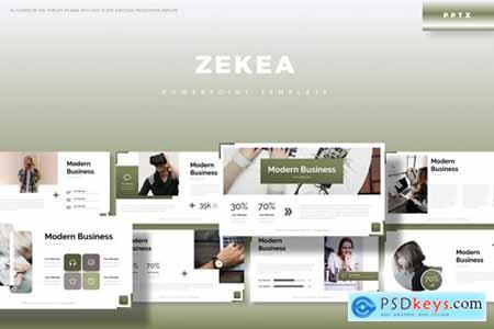 Zekea Powerpoint, Keynote and Google Slides Templates