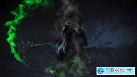 Videohive Cinematic Reaper Logo 24733223