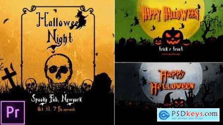 Videohive Halloween Openers Premiere Pro 24720680